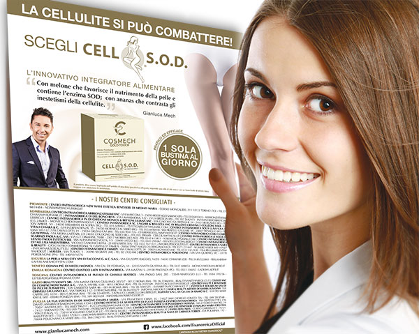 CELL S.O.D. fantastico Anticellulite di Gianluca Mech